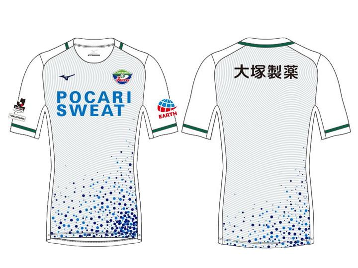 2018シーズン 徳島ヴォルティスオーセンティックモデル2ndゲームシャツ
