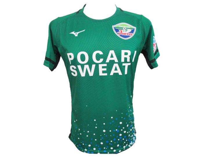 2018シーズン 徳島ヴォルティスオーセンティックモデル3rdGKゲームシャツ
