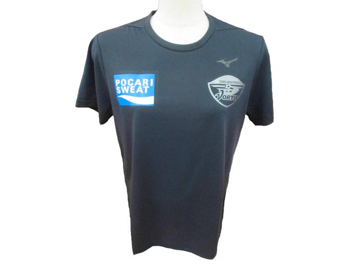 2019シーズン 徳島ヴォルティス 選手 移動用 Tシャツ 32MA902309