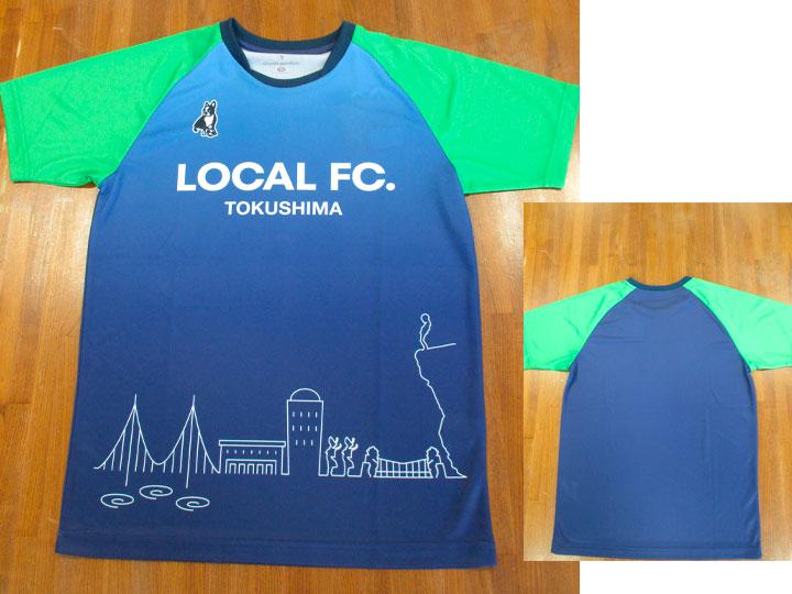 サッカージャンキー LOCAL FC シャツ SJ19037